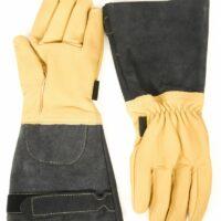 gants cuir sapeur-pompier