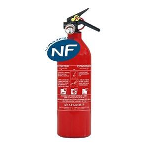 extincteur rouge NF