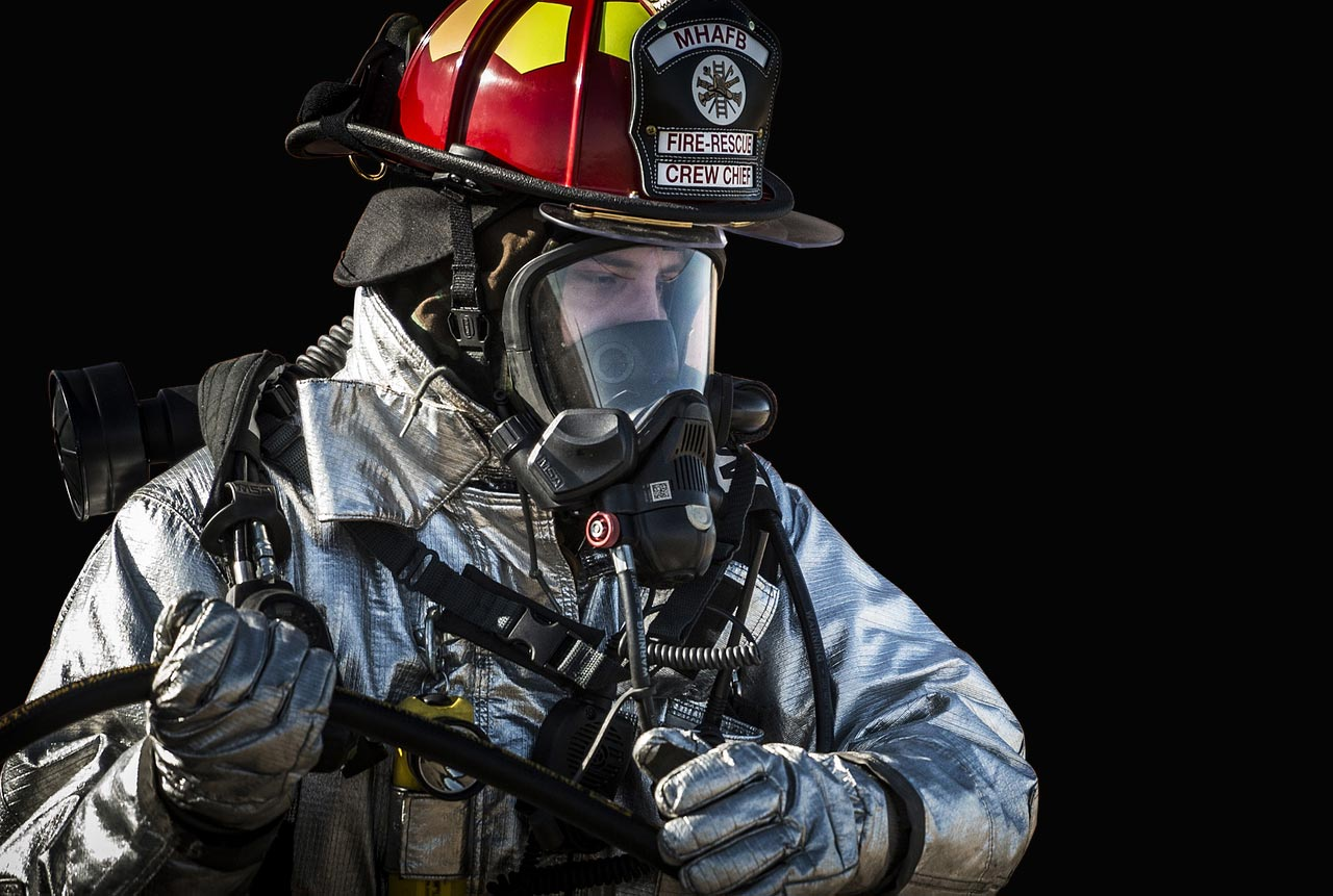 formation esi ari pompier masque