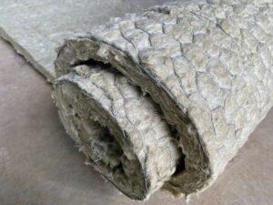 Rouleau de fibre d'amiante